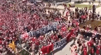 Un video viral muestra la conmovedora caminata de la selección peruana en Rusia horas antes de Perú vs Dinamarca