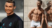 Cristiano Ronaldo sorprendió con nuevo look.