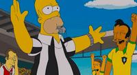 Capitulo de Los Simpson haría referencia al penal anulado de Neymar en Rusia 2018