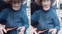 Abuelita dio épica respuesta a su nieto.