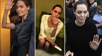 Angelina Jolie presumió curvas de infarto.