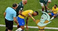 Publicidad se burló del drama de Neymar.