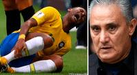 Un video puso al descubierto que el mismo entrenador de Brasil no soportaba las exageraciones de Neymar.