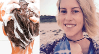 La bloguera Virginia Tapp mostró cómo quedó su cabello tras no lavarselo con shampoo por ocho meses