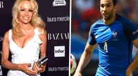 Pamela Anderson despertó la atención de miles de aficionados en Rusia 2018