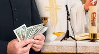 Sacerdote suizo convenció a 50 feligreses para que le hicieran donaciones con el fin de realizar obras caritativas