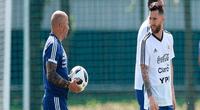 Finalizado el torneo, el astro argentino no se pronunció sobre su continuidad de seguir jugando por la selección argentina de fútbol.