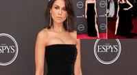 Eiza Gonzáles asistió con sexy atuendo a evento público y la compararon con Agelina Jolie