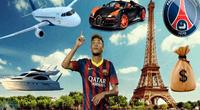A principios de 2018, Neymar adquirió una lujosa mansión en Río de Janeiro, valorada en 9 millones de dólares.