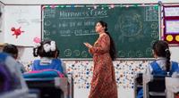 La india incluyó una materia de cómo ser felices en las escuelas primarias