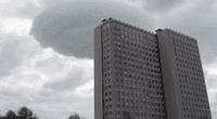 Nube en forma de platillo causó asombro en pobladores de Rusia
