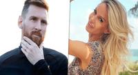 Lionel Messi y Luciana Salazar habrían tenido una relación prohibida.