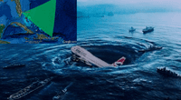 """Desaparición de barcos y aviones en """"El Triángulo de las Bermudas"""" se debería a un inusual fenómeno de """"olas gigantes"""""""