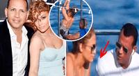 Los paparazzis la captaron compartiendo un momento íntimo con su novio.