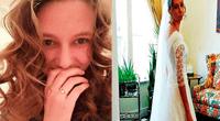 Claire Dalton se sintió decepcionada al ver lo que su prometido guardaba en su celular
