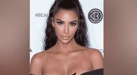 Kim Kardashian aterró a fans con su escalofriante look en Instagram.