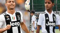 Hinchas de la Juventus felicitan a Cristiano Ronaldo Jr. pero a su padre le exigen resultados.