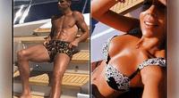 Cristiano Ronaldo y su novia se lucen muy cariñosos, pero ella en sexy bikini se roba más de un suspiro.