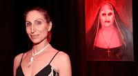 """Bonnie Aarons participó en películas como """"El Conjuro"""" y ahora en """"La Monja""""."""
