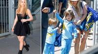 Shakira volvió a dejarse ver al 'natural' y desató la polémica.