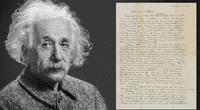 La carta de Albert Einstein sobre Dios vale más de un millón de dólares