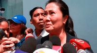 Keiko Fujimori recibió una orden de detención preliminar por 10 días por el caso cócteles.