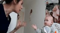 """Peculiar """"discusión"""" entre madre y su bebé desató miles de risas en las redes"""