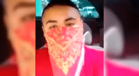 Presunto ladrón grabó video pidiendo apoyo a las autoridades por tanta inseguridad.