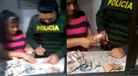 Policías quedaron sorprendidos al ver la increíble cifra de dinero que recolectó una mujer pidiendo limosnas en un fin de semana