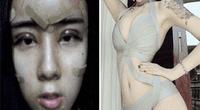 Asiática se opera el rostro para recuperar a su ex y así luce tras las cirugías.