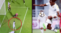 Ayuda a compañero lesionado en área rival y lo abandona para meter un gol.