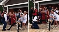 """Conquista a su novia con """"baile erótico"""", pero sufre pesada broma en su boda."""