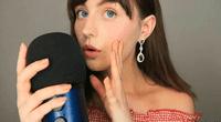 Sophie Michelle graba su voz y otros sonidos con el propósito de relajar a sus escuchas.