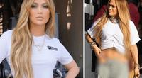 "Jennifer López presume su sexy tanga y fans la tildan de ""ridícula""."