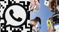 """Crean código QR en WhatsApp para agregar contactos sin pedir el """"número"""" de tu amigo."""