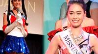 Yuumi Kato, de 22 años, representará a Japón en el Miss Universo con peculiar traje de Sailor Moon