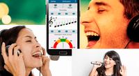 """""""Aprende a cantar"""", """"entrenador vocal"""" son algunas de las aplicaciones que te ayudarán a cantar bien"""