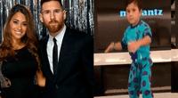 """Messi causo sensación en las redes al publicar una divertida grabación de su hijo bailando """"Sexy and I know it"""""""
