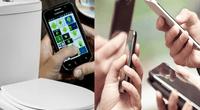 Estudio demostróqueun celular es siete veces más sucio que la tapa de un inodoro.