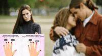 ¿Cómo saber si tu novio/a te será infiel? Mira sus dedos, experto lo revela.