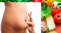 El apio, el plátano y las cerezas son algunos alimentos que ayudan a reducir la grasa abdominal