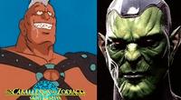 ¿Casio es un Skrull? Teoría sorprende a fans de Marvel y Saint Seiya. Foto: Composición.