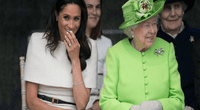 Meghan Markle desafió a la Reina Isabel II con look rebelde en sus uñas y fans la aman
