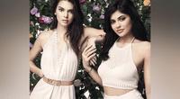 Kylie Jenner reta a su hermana Kendall en sexy duelo de transparencias y fans enloquecen.