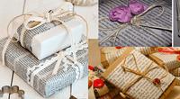 El papel periódico es la creativa y original propuesta ambientalista para tus regalos de Navidad