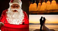 """Los pobladores de Noruega, acostumbran a esconder las escobas en la víspera de Navidad para evitar la entrada de """"seres malignos"""" al hogar."""