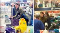 La duquesa de Cambridge fue sorprendida realizando compras de último minuto.