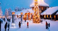 Rovaniemi no solo es atractivo por su espíritu navideño, sino por ser el hogar oficial de Papá Noel