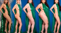 Mujeres recrean candente pose de Jennifer López y mandan menaje inspirador
