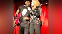 Madonna reaparece con su hijo en bar gay, pero sus implantes de glúteos se robaron el show.